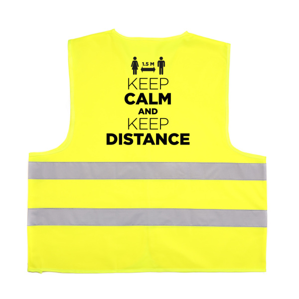 Social Distance safety jacket